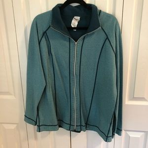 2-in-1 Reversible Teal Jacket